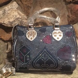 Handbags - Purse detailed with BLING